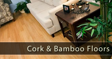cork and bamboo floors